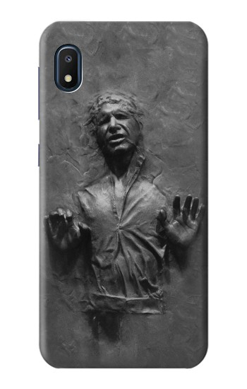 Printed Han Solo Frozen in Carbonite Samsung Galaxy A10e Case
