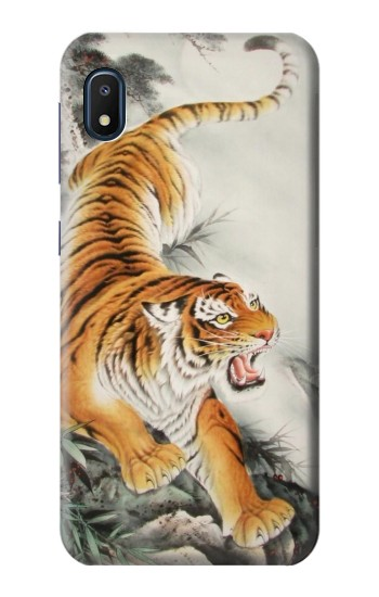 Printed Chinese Tiger Tattoo Painting Samsung Galaxy A10e Case