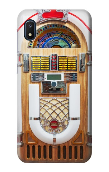 Printed Jukebox Music Playing Device Samsung Galaxy A10e Case