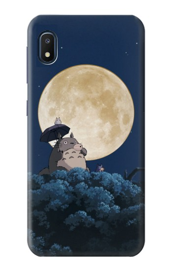 Printed Totoro Ocarina Moon Night Samsung Galaxy A10e Case