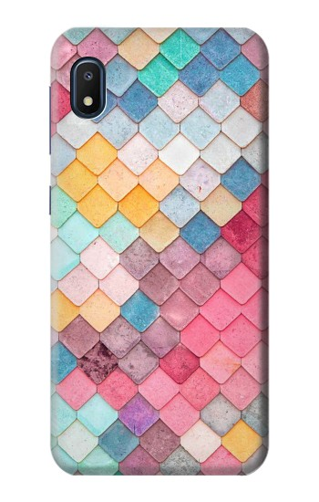 Printed Candy Minimal Pastel Colors Samsung Galaxy A10e Case
