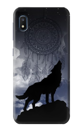 Printed Dream Catcher Wolf Howling Samsung Galaxy A10e Case