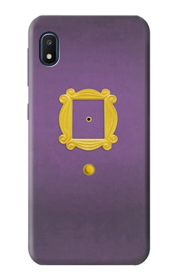 Printed Friends Purple Door Minimalist Samsung Galaxy A10e Case