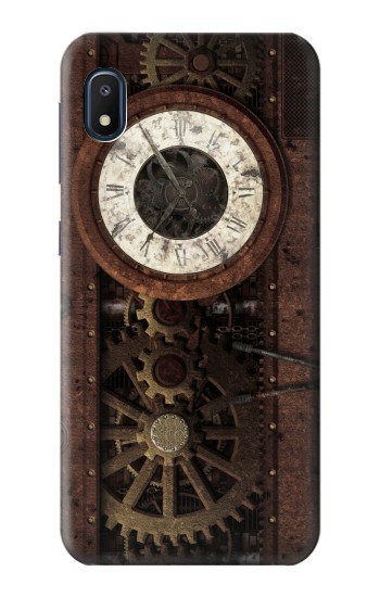 Printed Steampunk Clock Gears Samsung Galaxy A10e Case