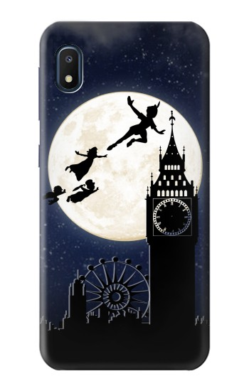 Printed Peter Pan Fly Fullmoon Night Samsung Galaxy A10e Case