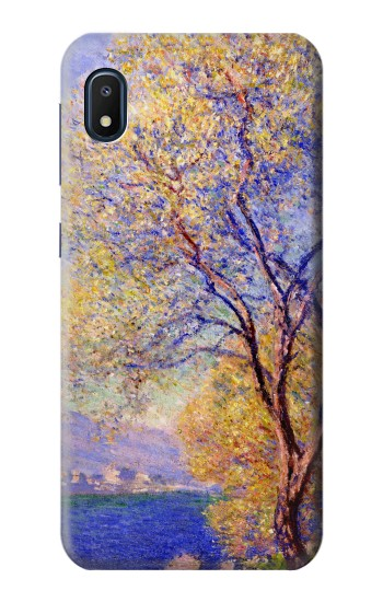 Printed Claude Monet Antibes Seen from the Salis Gardens Samsung Galaxy A10e Case