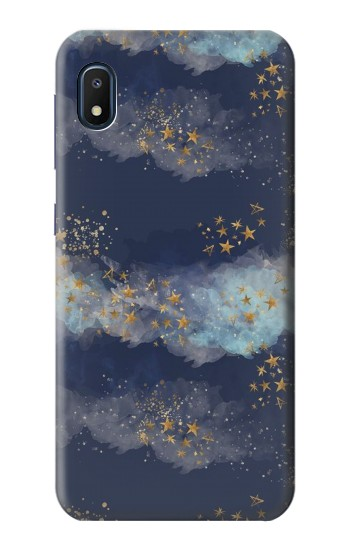 Printed Gold Star Sky Samsung Galaxy A10e Case