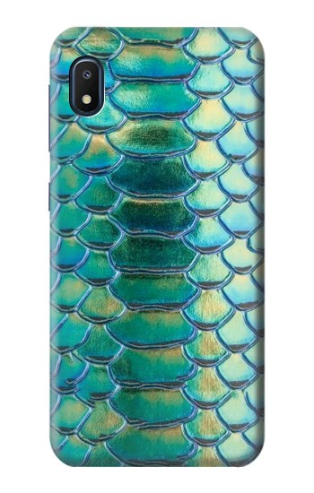 Printed Green Snake Scale Graphic Print Samsung Galaxy A10e Case