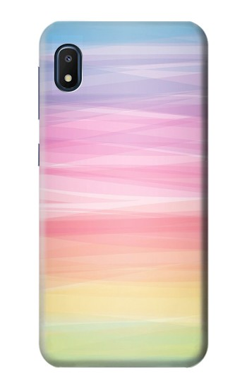 Printed Colorful Rainbow Pastel Samsung Galaxy A10e Case