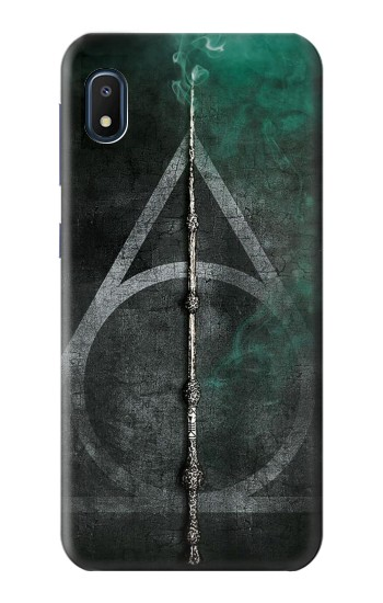 Printed Harry Potter Magic Wand Samsung Galaxy A10e Case
