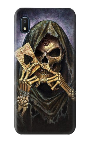 Printed Grim Reaper Wins Poker Samsung Galaxy A10e Case