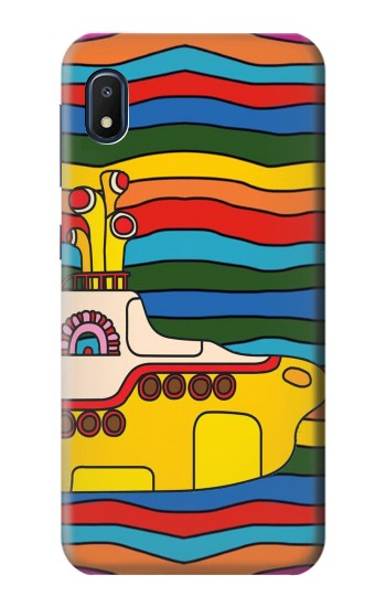 Printed Hippie Yellow Submarine Samsung Galaxy A10e Case