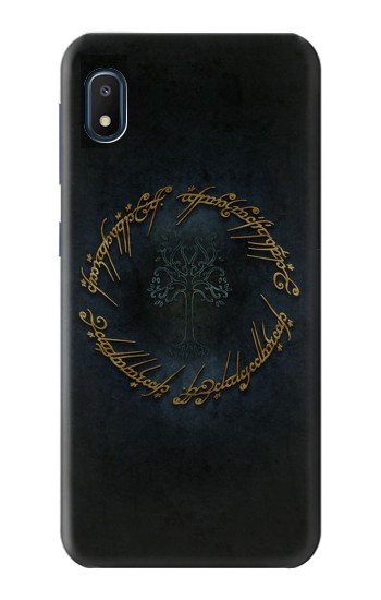 Printed Lord of The Rings Ring Elf Writing Samsung Galaxy A10e Case