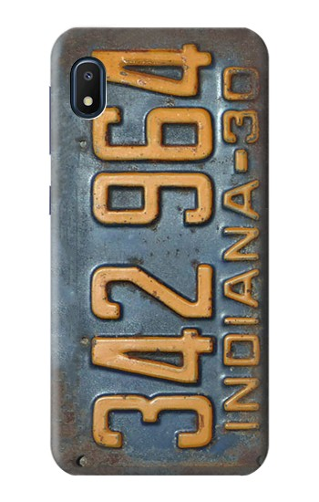 Printed Vintage Vehicle Registration Plate Samsung Galaxy A10e Case