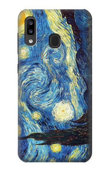 Printed Van Gogh Starry Nights Samsung Galaxy A20, Galaxy A30 Case