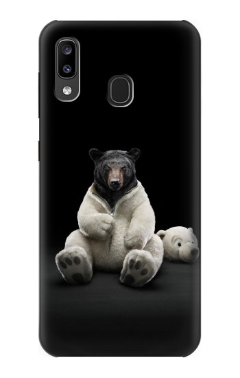 Printed Black Bear Samsung Galaxy A20, Galaxy A30 Case
