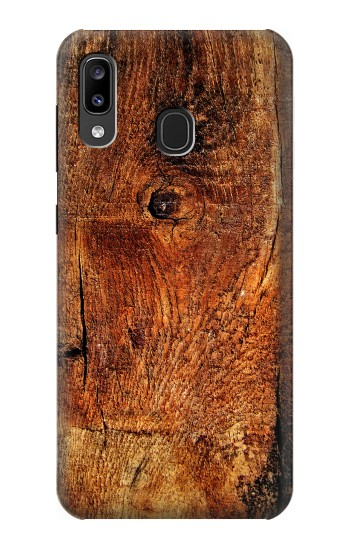 Printed Wood Skin Graphic Samsung Galaxy A20, Galaxy A30 Case