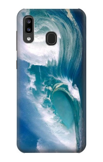 Printed Amazing Oceans Waves Samsung Galaxy A20, Galaxy A30 Case