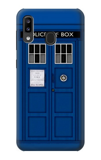 Printed Doctor Who Tardis Samsung Galaxy A20, Galaxy A30 Case
