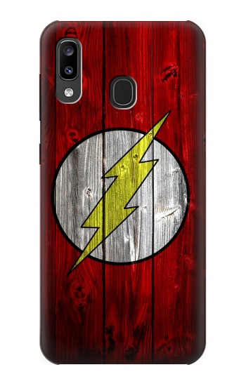 Printed Thunder Speed Flash Minimalist Samsung Galaxy A20, Galaxy A30 Case
