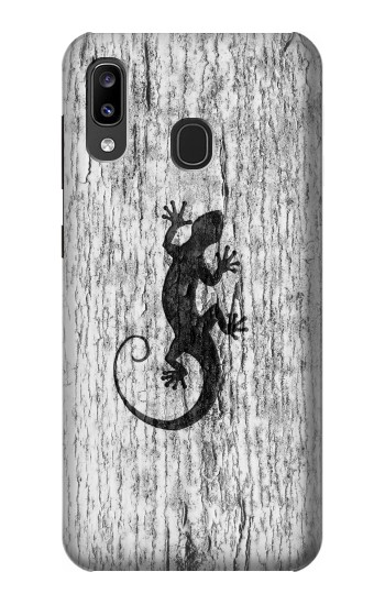 Printed Gecko Wood Graphics Printed Samsung Galaxy A20, Galaxy A30 Case