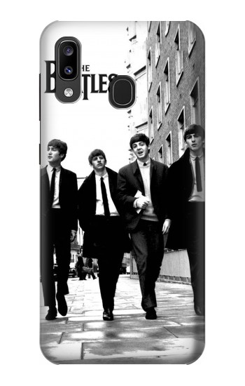 Printed The Beatles in London Samsung Galaxy A20, Galaxy A30 Case