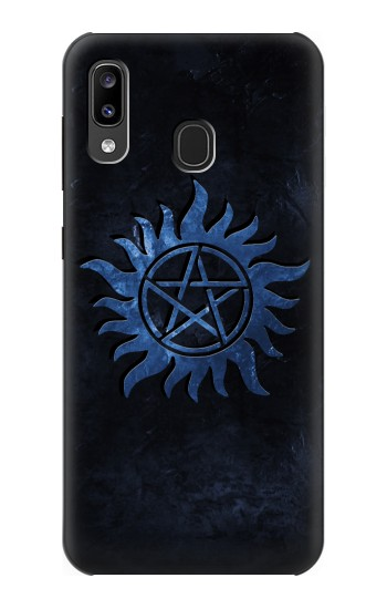 Printed Supernatural Anti Possession Symbol Samsung Galaxy A20, Galaxy A30 Case