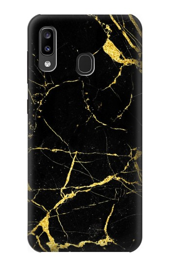 Printed Gold Marble Graphic Printed Samsung Galaxy A20, Galaxy A30 Case
