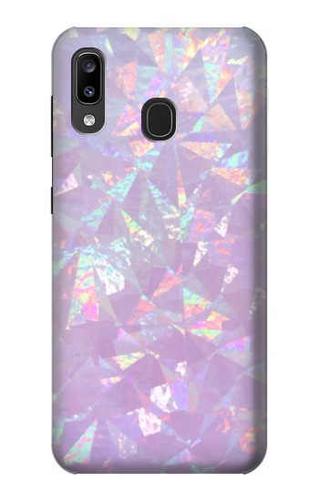 Printed Iridescent Holographic Photo Printed Samsung Galaxy A20, Galaxy A30 Case
