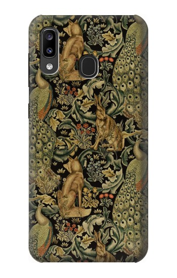 Printed William Morris Forest Velvet Samsung Galaxy A20, Galaxy A30 Case