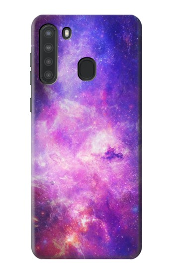 Printed Milky Way Galaxy Samsung Galaxy A21 Case
