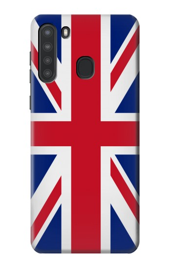 Printed Flag of The United Kingdom Samsung Galaxy A21 Case