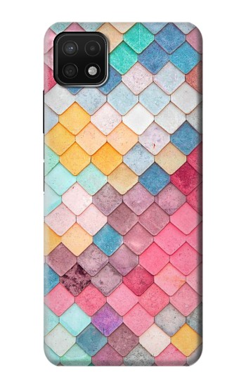 Printed Candy Minimal Pastel Colors Samsung Galaxy A22 5G Case