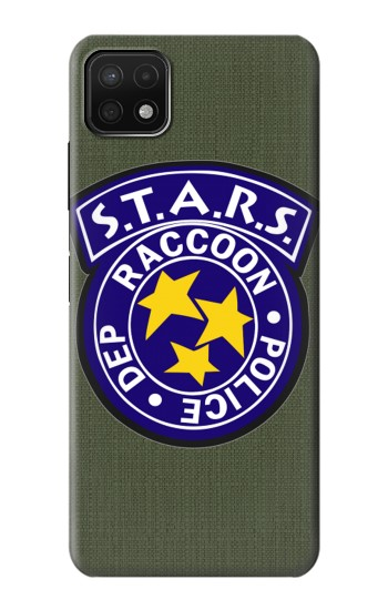 Printed Resident Evil Star Badge Chris Outfit Samsung Galaxy A22 5G Case