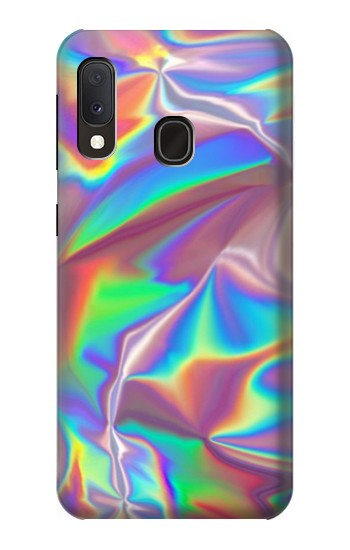 Printed Holographic Photo Printed Samsung Galaxy A20e Case
