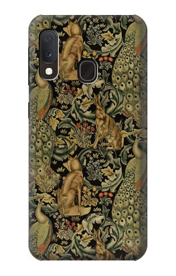 Printed William Morris Forest Velvet Samsung Galaxy A20e Case