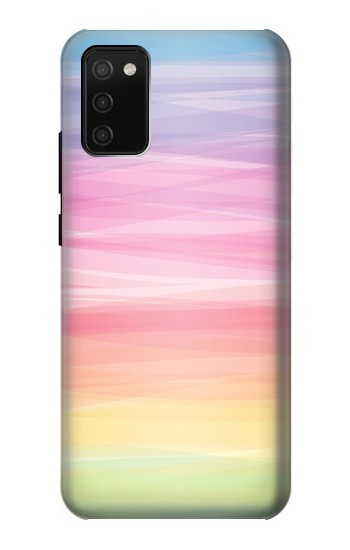 Printed Colorful Rainbow Pastel Samsung Galaxy A02s Case