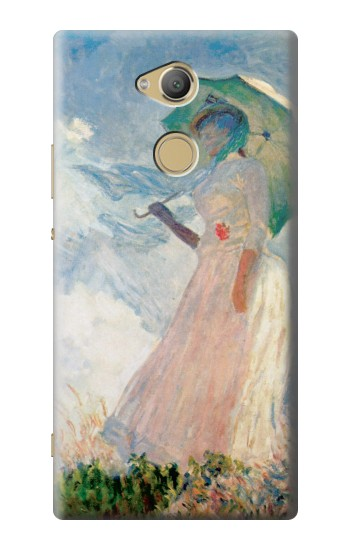 Printed Claude Monet Woman with a Parasol Sony Xperia XA2 Ultra Case