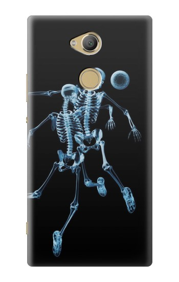 Printed Soccer X-ray Sony Xperia XA2 Ultra Case