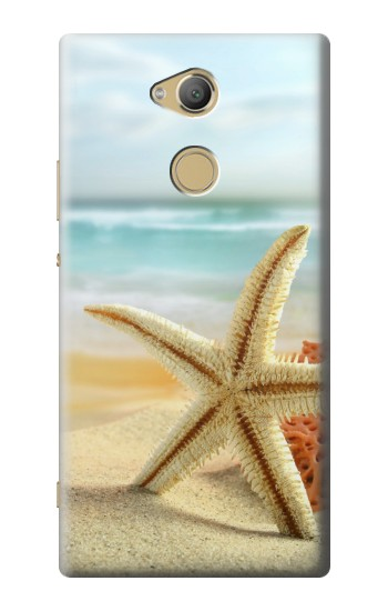 Printed Starfish on the Beach Sony Xperia XA2 Ultra Case