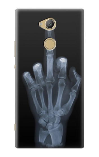 Printed X-ray Hand Middle Finger Sony Xperia XA2 Ultra Case