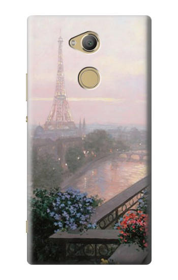 Printed Terrace in Paris Eifel Sony Xperia XA2 Ultra Case
