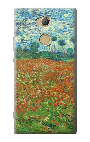Printed Field Of Poppies Vincent Van Gogh Sony Xperia XA2 Ultra Case