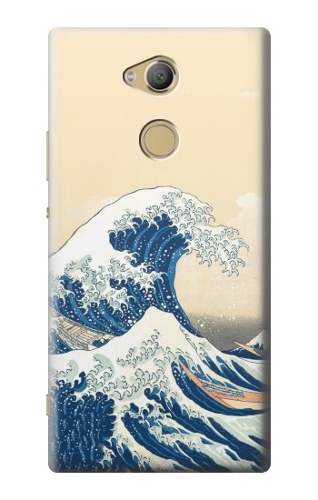 Printed Under the Wave off Kanagawa Sony Xperia XA2 Ultra Case