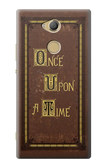 Printed Once Upon a Time Book Cover Sony Xperia XA2 Ultra Case