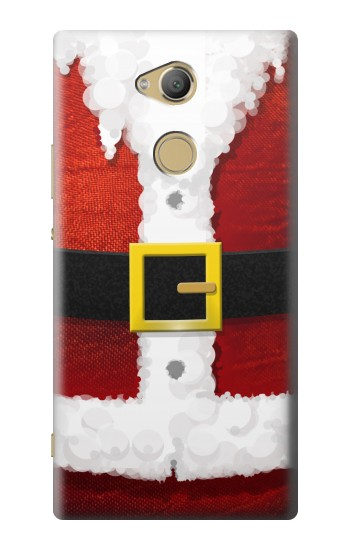 Printed Christmas Santa Red Suit Sony Xperia XA2 Ultra Case