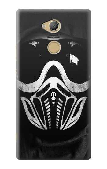 Printed Paintball Mask Sony Xperia XA2 Ultra Case