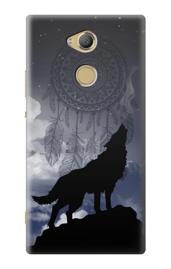 Printed Dream Catcher Wolf Howling Sony Xperia XA2 Ultra Case