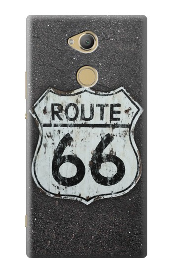 Printed Route 66 Sign Sony Xperia XA2 Ultra Case