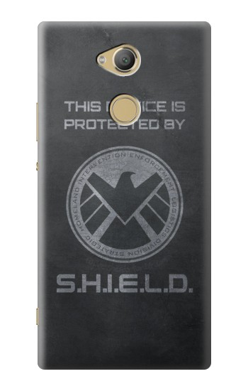 Printed This Device is Protected by Shield Sony Xperia XA2 Ultra Case